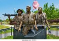 The Three Soldiers Memorial, Apalachicola